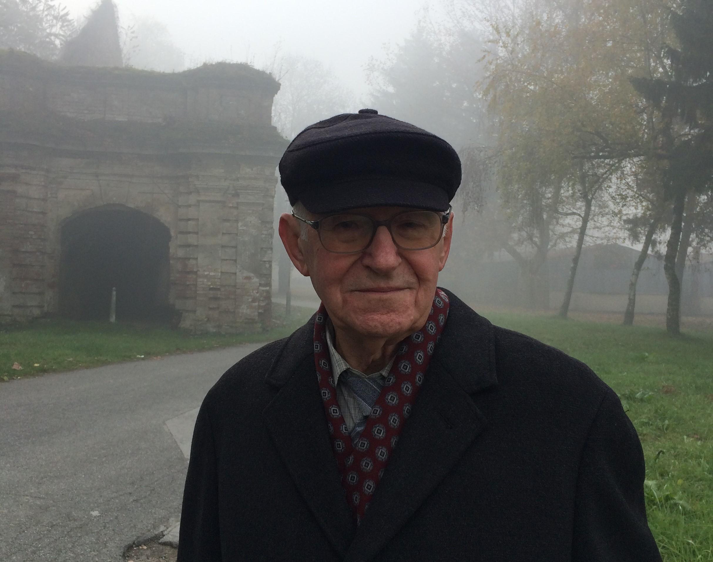 Milorad Jandrić na snimanju 2015. u Staroj Gradiški